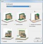 Das Kachelofen Berechnungsprogramm 2Plus bietet folgende Projekt Varianten in der Version Profi oder Basic