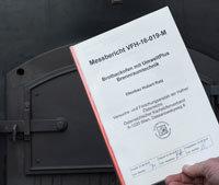 Niedrige Emissionswerte sind im VFH-Prüfbericht dokumentiert.