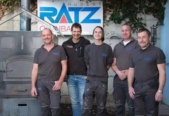 Hubert Ratz und sein Team.