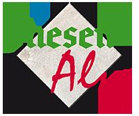 logo fliesenalm