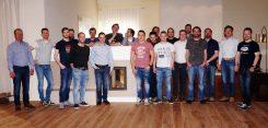Die Meisterschüler zu Gast bei Firma Sommerhuber.