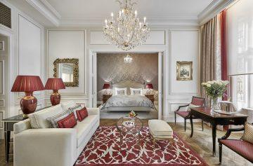 So sieht die neue Bel Etage im Hotel Sacher aus. ©Hotel Sacher Wien