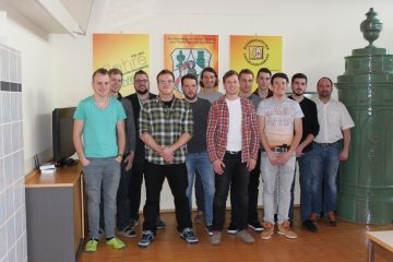 Die Meisterschüler mit Kursleiter Rudolf Haselböck vom KOV.