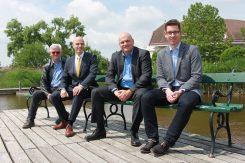 Das VEUKO-Führungsteam: Wolfgang Kippes, Robert Salvata, Thomas Schiffert und Tim Froitzheim.